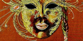 Mask - Gold and Ruby