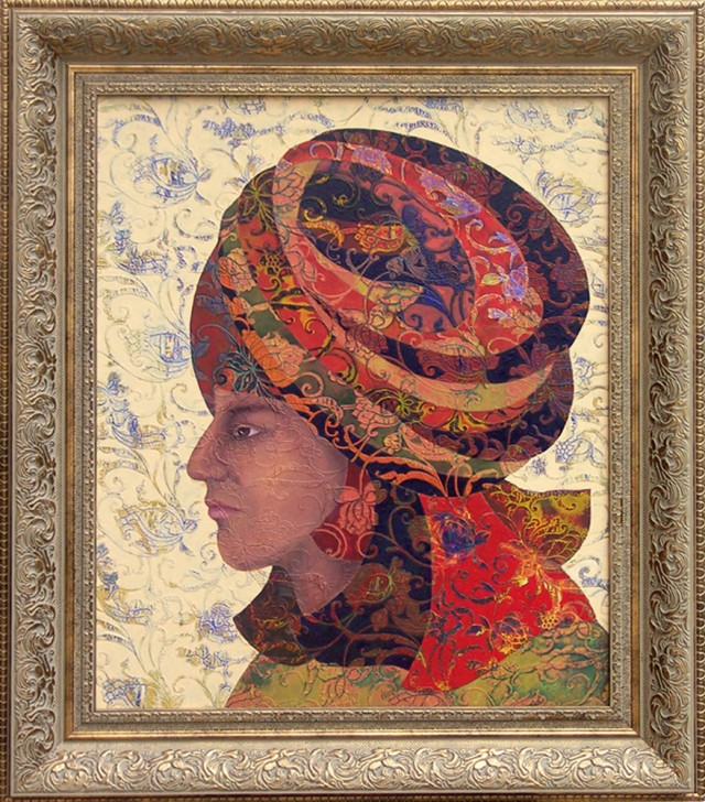 Aladdin original painting by Džina Jasiūnienė. Curated Collections