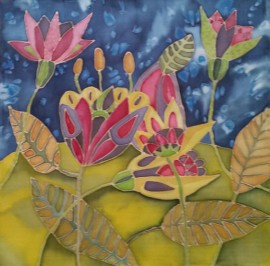 Blooming original painting by Ilona Venckienė. Other technique