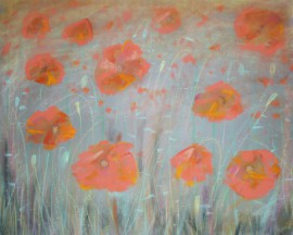 "From the cycle ""Grass"" - Poppies"