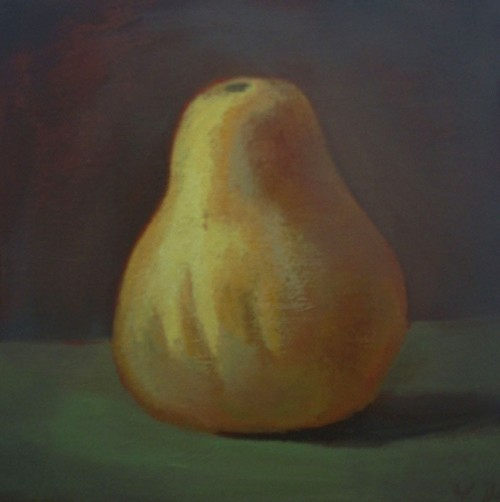 A Small Pumpkin original painting by Vidmantas Jažauskas. Oil painting