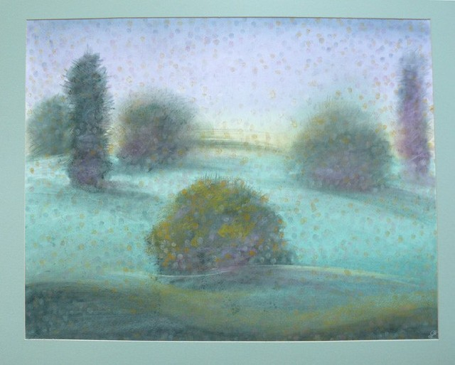 Morning Colors original painting by Gražina Luckutė-Bukienė. Pastel