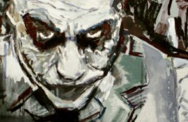 Joker For You original painting by Rasa Bartaševičiūtė. Oil painting