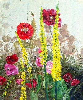 Poppies original painting by Onutė Juškienė. Oil painting