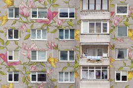 Flowered Multifamily original painting by Tadas Šimkus. Other technique