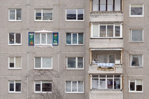 Old People Multifamily original painting by Tadas Šimkus. Other technique