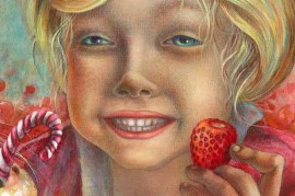The Joyful Moment original painting by Ina Lukauskaitė. Other technique