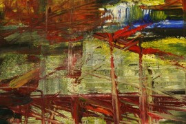 Gone out original painting by Kristina Čivilytė. Abstract Paintings