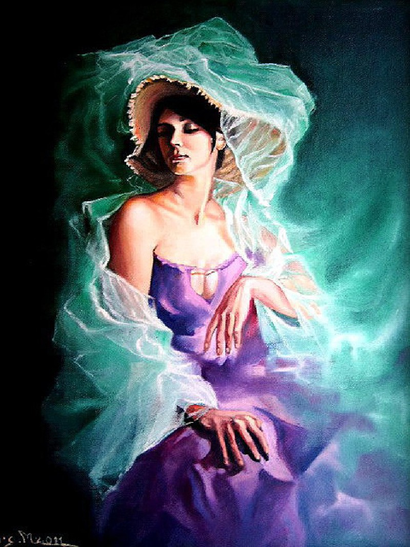 Buy Beautiful Fairy - painting by