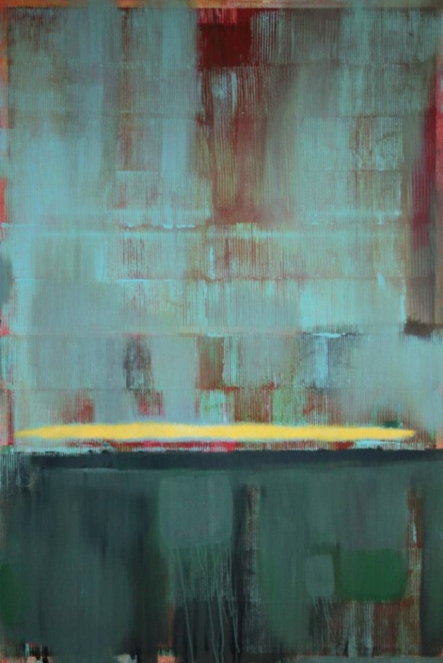 Dedication-Mark Rothko original painting by Gintautas Vaičys. Abstract Paintings