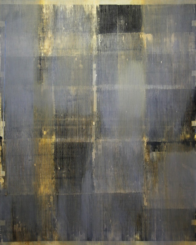 Gold II original painting by Gintautas Vaičys. Abstract Paintings