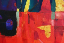 Abstract composition I original painting by Dalvytis Udrys. Abstract Paintings