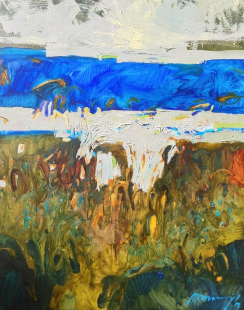 Coast original painting by Ramūnas Dagys. Abstract Paintings