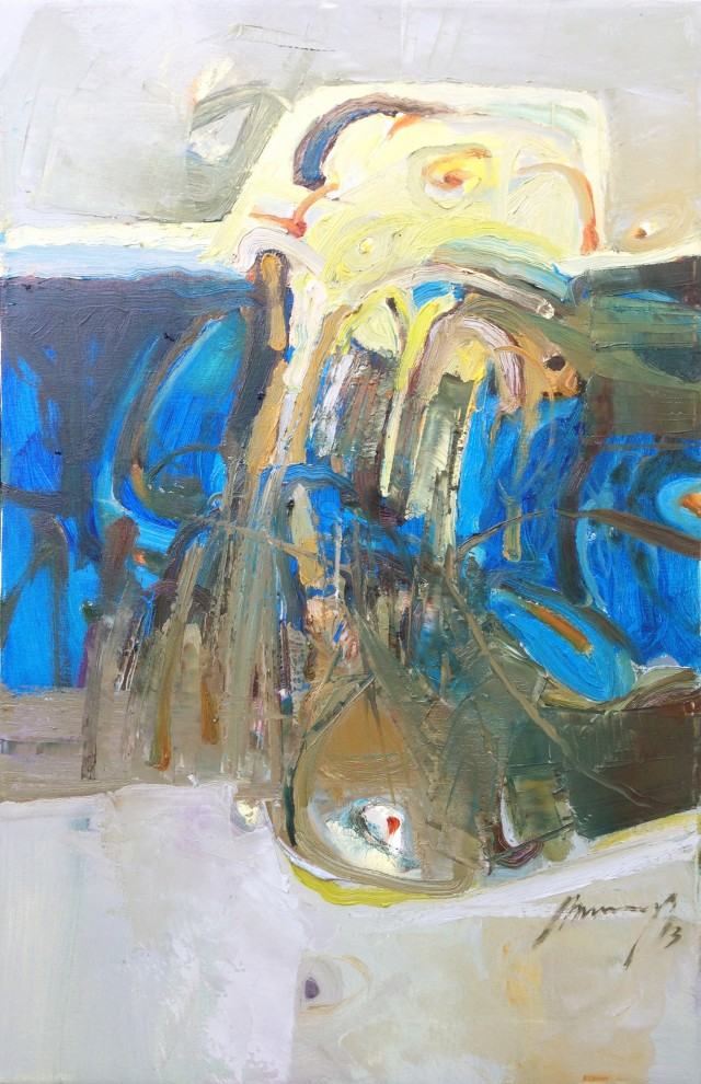 Shore original painting by Ramūnas Dagys. Abstract Paintings