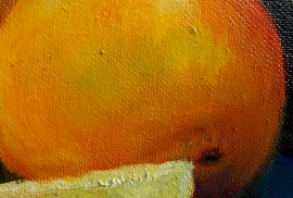Still-life with Oranges original painting by Irena Jasiūnienė. Still-Life