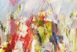 Waiting for the Spring original painting by Kristina Čivilytė. Abstract Paintings