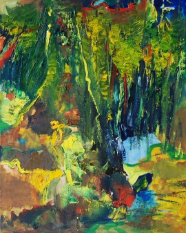 Oak Grove original painting by Antanas Virginijus-Krištopaitis. Abstract Paintings