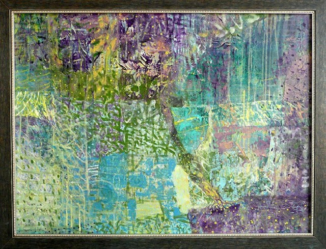 Life Tree original painting by Jurgita Vaidilaitė. Oil painting
