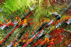 When Thoughts Stops original painting by Konstantinas Žardalevičius. Abstract Paintings