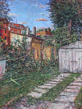 Žaliakalnis V original painting by Gilles Vuillard. Home