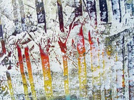 Twelve original painting by Konstantinas Žardalevičius. Abstract Paintings