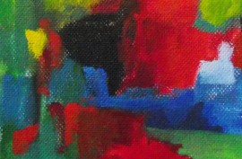 Spring 2 original painting by Albinas Markevičius. Abstract Paintings
