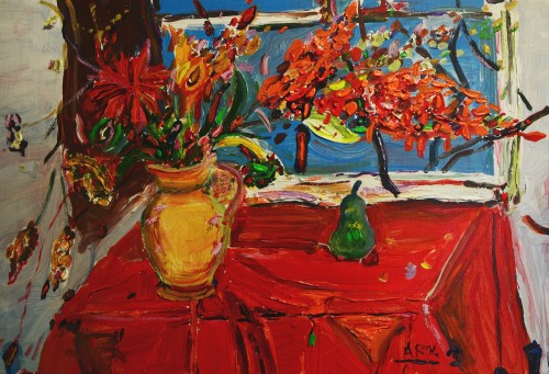 Still Life original painting by Arvydas Martinaitis. Still-Life