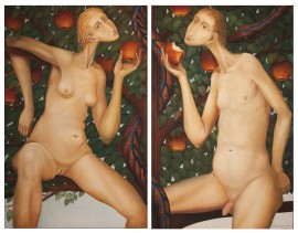Adam and Eve (Diptych)