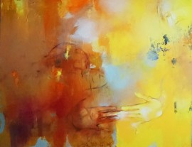 Colors of Autumn original painting by Aistė Jurgilaitė. Abstract Paintings