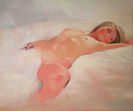 Morning V original painting by Vygandas Doveika. Oil painting