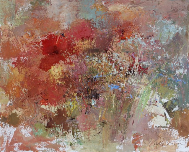 Meadow original painting by Rytis Garalevičius. For living room