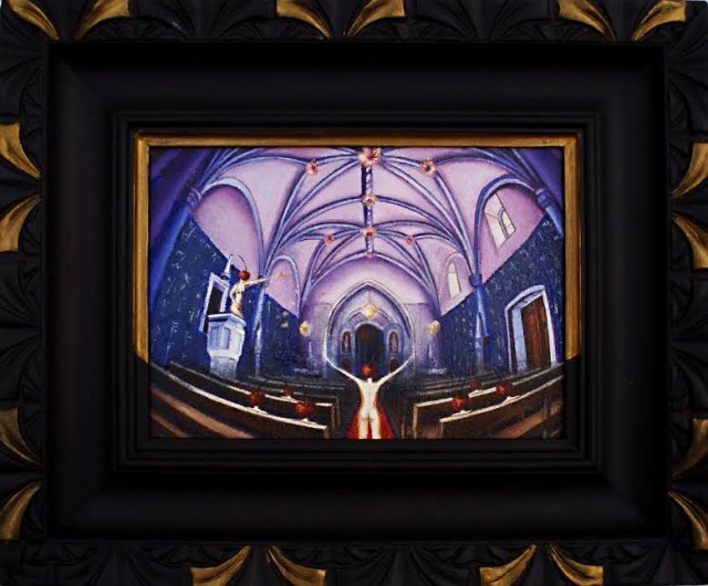 Trial of Yourself original painting by Theresa Van Cherry. Fantastic