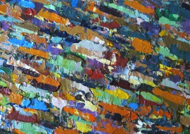 Favorable Conjuncture original painting by Dalius Virbickas. Abstract Paintings