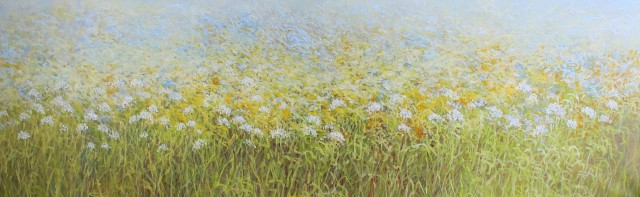 In the Meadow original painting by Rasa Kondrusevičienė. Flowers