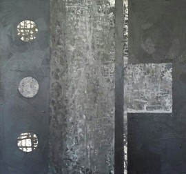 In the Silence original painting by Jolita Lubienė. For the bedroom