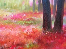 Sunny Morning original painting by Viktorija Labinaitė. Calm paintings