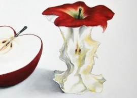 And a Core of an Apple original painting by Vincas Bareikis. For the kitchen
