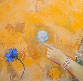Girl with a Bubble