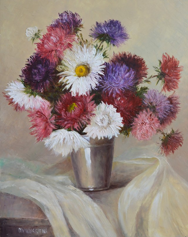 Asters have Bloomed