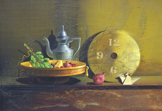 Still Life with a Crane