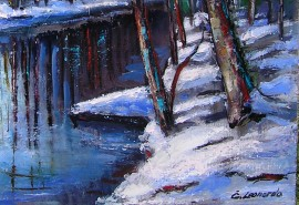 Winter By The River