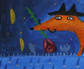 Mr Fox and miss Crow