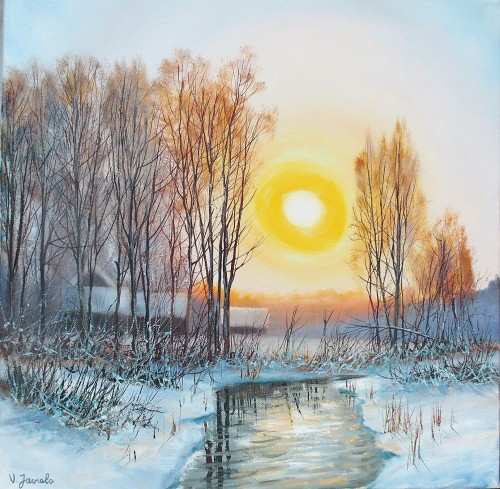 Sunny Winters Day