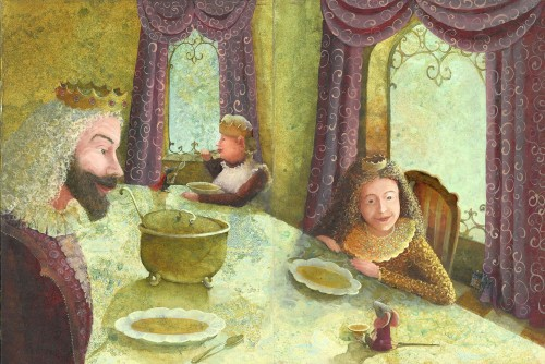 "Illustration For The Book Kate DiCamillo ""Desper Tales"" 21-22"
