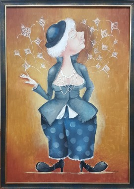 Lady With Pants