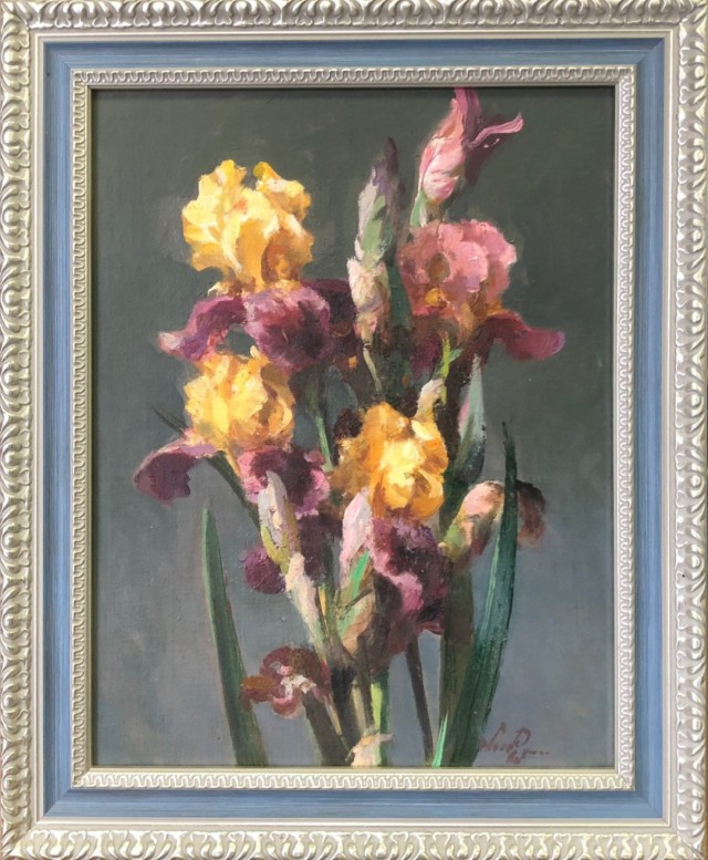 Golden Irises