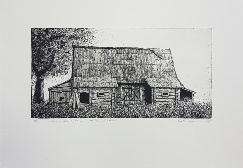 Barn In A Village