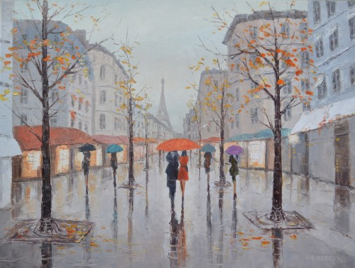 Rain In Paris