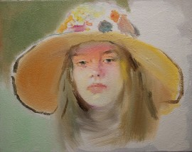 Girl With a hat