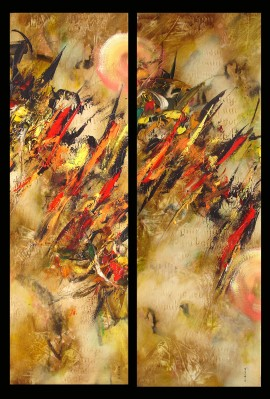 Chasing The Time I, II (Diptych)